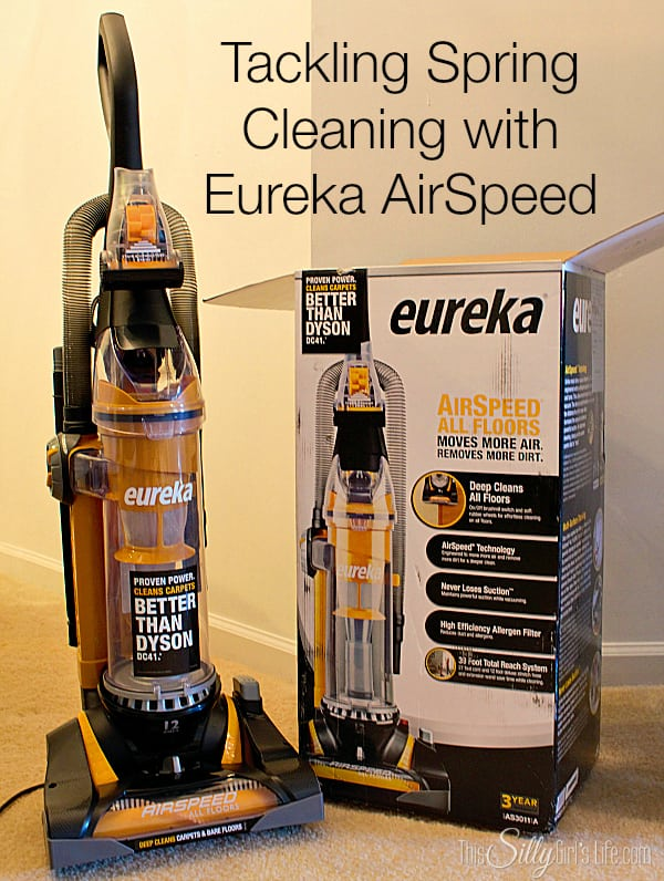 Tackling Spring Cleaning with Eureka AirSpeed #EurekaPower #shop