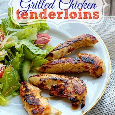 CopyCat Cracker Barrel Grilled Chicken Tenderloins