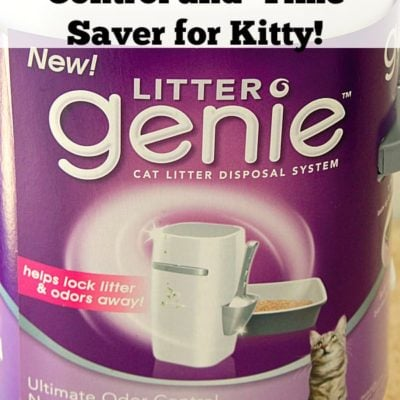 #PetParents Odor Control and Time Saver for Kitty!