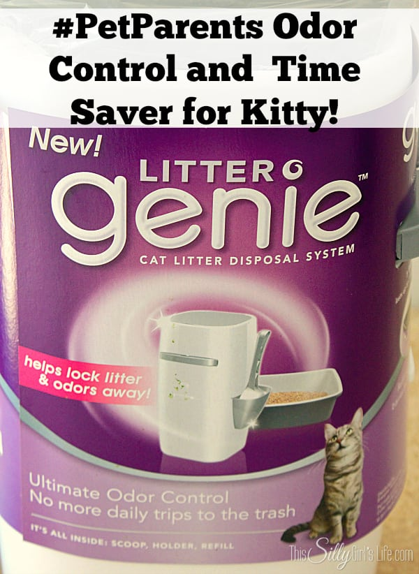 #PetParents Odor Control and Time Saver for Kitty! #PMedia #ad