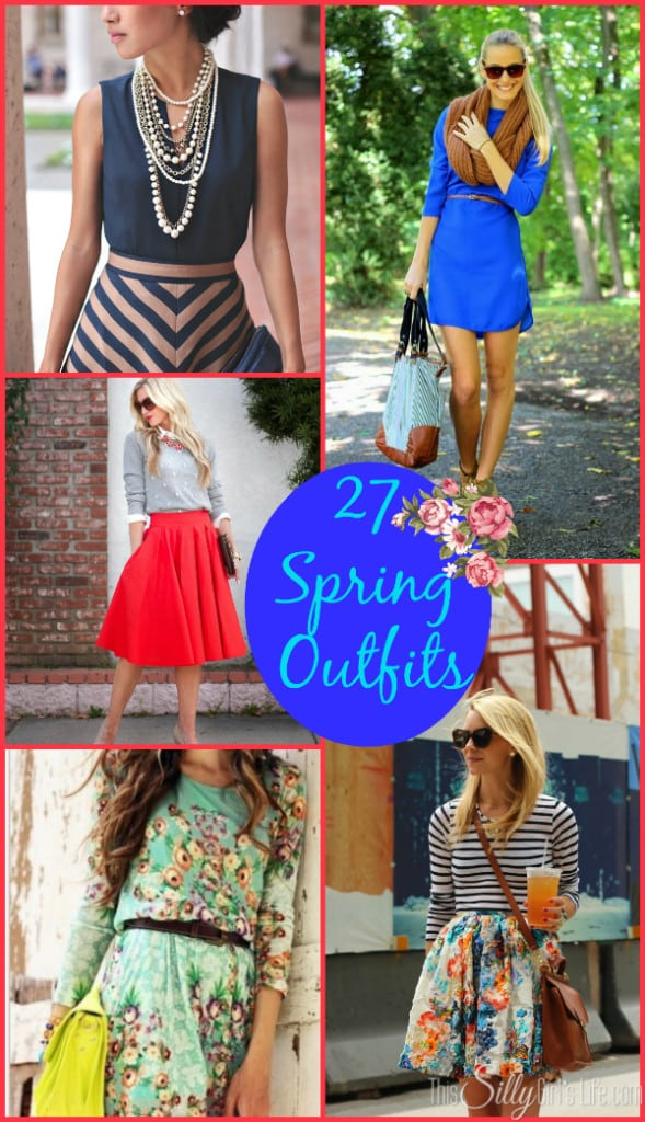 27 Spring Outfits, inspiration for a new spring wardrobe!