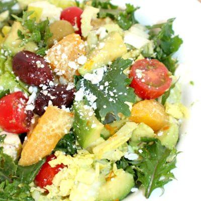 Orange Greek Salad