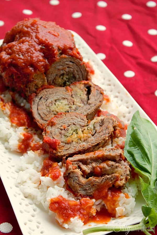 Easy Beef Braciole Recipe - This Silly Girl's Kitchen