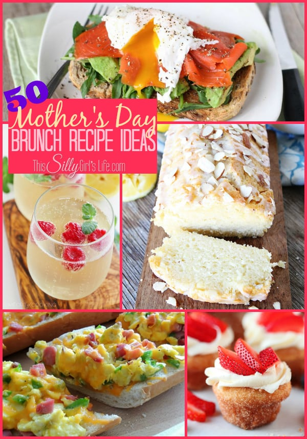 50 Mother's Day Brunch Recipe Ideas
