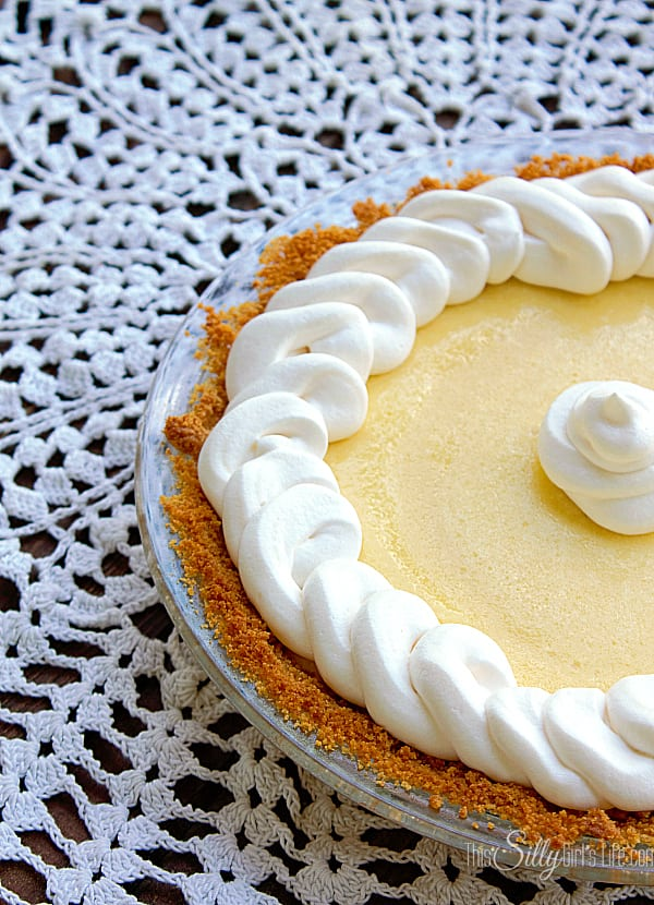 Key Lime Pie, filling is super smooth and tart but just sweet enough to cut the key lime. So good!