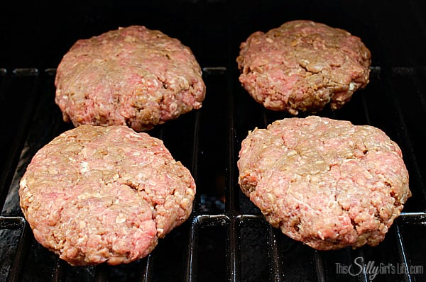 Grill burgers to desired doneness over medium heat.
