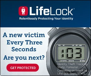 Protect Yourself Against Identity Theft + 1 year FREE Membership with LifeLock Giveaway!