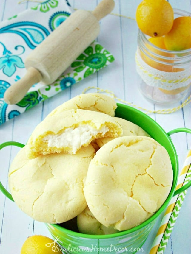 A-bucket-of-Lemon-Pudding-Cheesecake-Cookies-created-by-sewlicioushomedecor