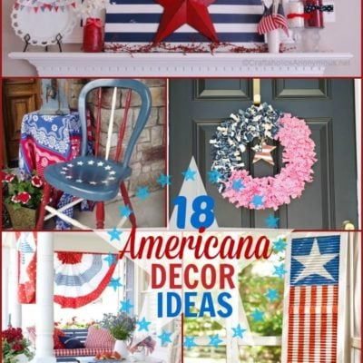 18 Americana Decor Ideas {The Weekly Round UP}