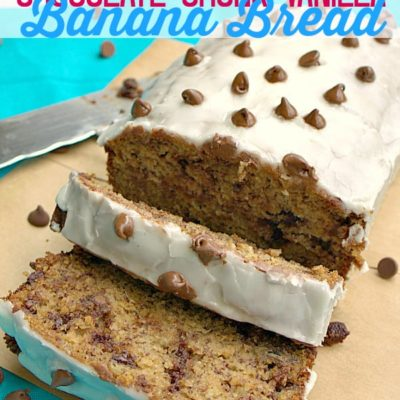 Chocolate Chunk Vanilla Banana Bread