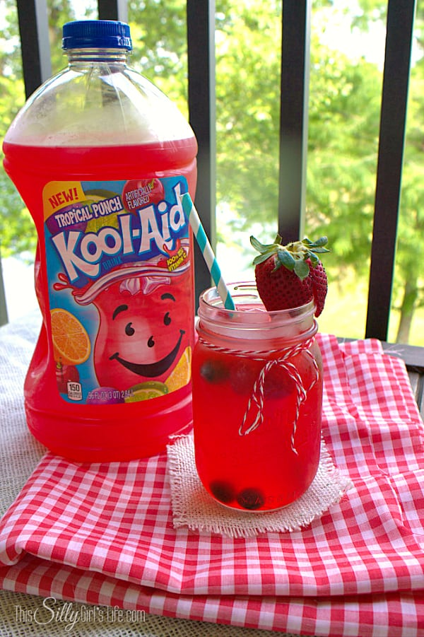 Kool-Aid Cookies, cake mix cookies flavored with powdered Kool-Aid, formed and dipped into festive sprinkles! #KoolOff  #shop