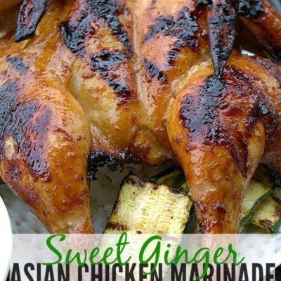 #ad Sweet Ginger Asian Chicken Marinade