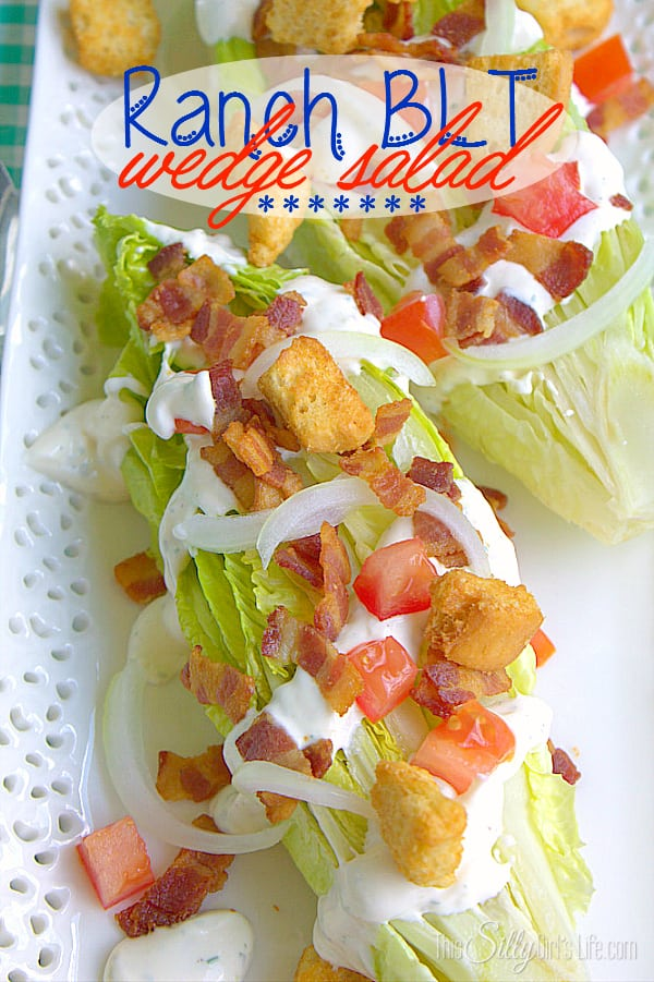 Ranch BLT Wedge Salad