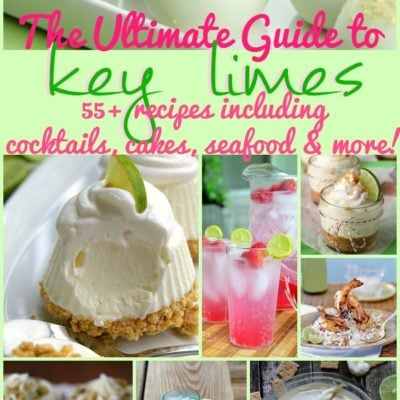 The Ultimate Guide to Key Limes: 55+ Recipes {The Weekly Round UP}