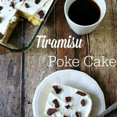 Tiramisu Poke Cake {guest post Parrish}