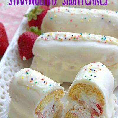 Handheld Strawberry Shortcakes
