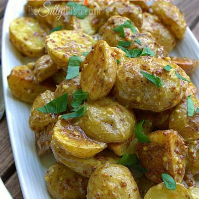 French Style Roasted Potato Salad