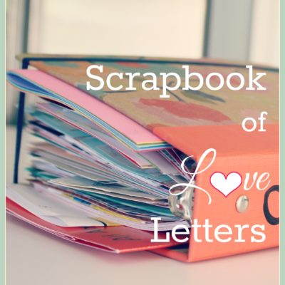 DIY Scrapbook of Love Letters {contributor Shelly}