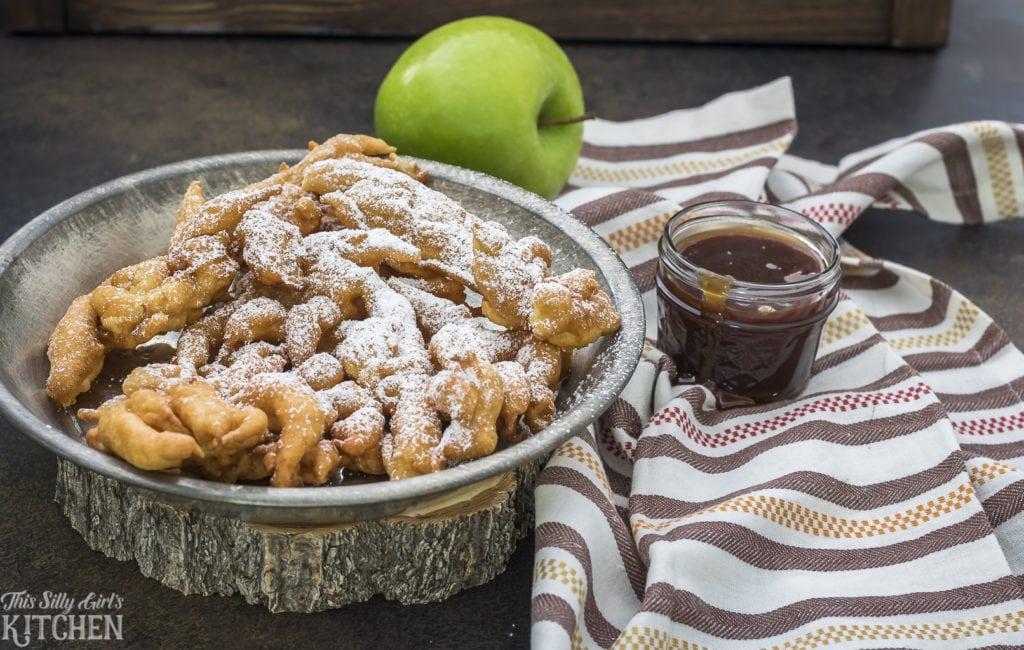 Apple Spice Funnel Cake