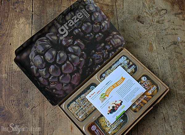 Get Your Snack on with Graze, review of Graze subscription box #ad