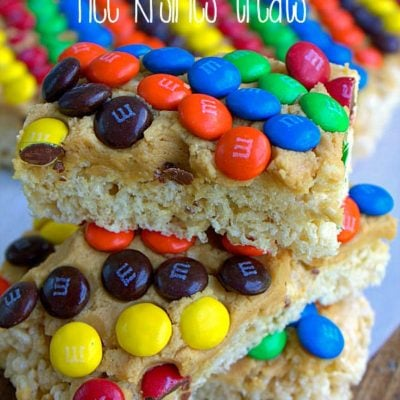 Monster Rice Crispy Treats