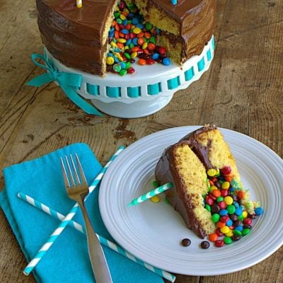 Surprise Inside Pinata Cake