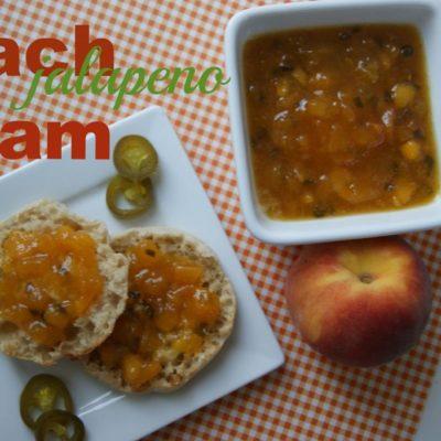 Peach Jalapeno Jam {contributor Mellisa}