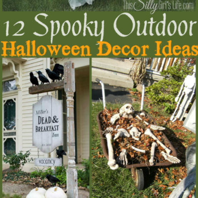 12 Spooky Outdoor Halloween Decor Ideas
