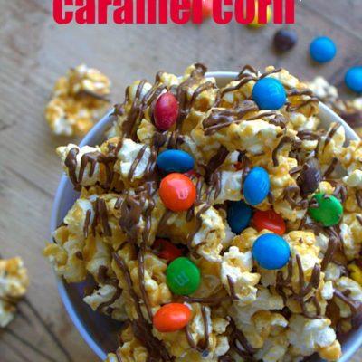 M&M's® Double Chocolate Caramel Corn