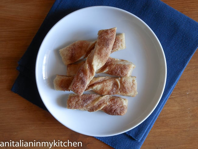 Cinnamon Pastry Twists