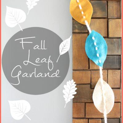 Fall Leaf Garland {contributor Shelly}