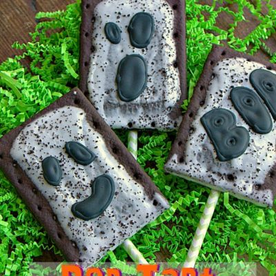Pop Tart Ghost Pops
