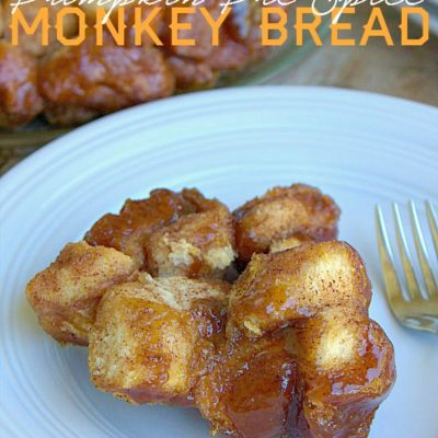 Pumpkin Pie Spice Monkey Bread