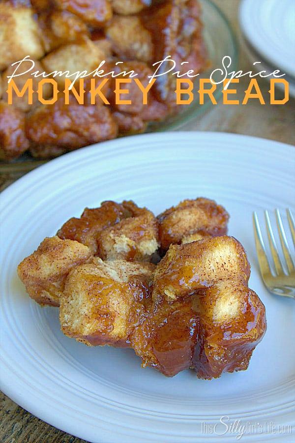 Pumpkin Pie Spice Monkey Bread