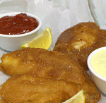 Beer Battered Fish Using Pancake Mix