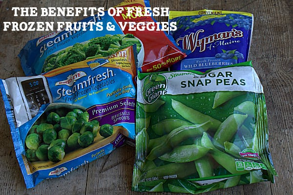The Benefits of Fresh Frozen Fruits and Veggies