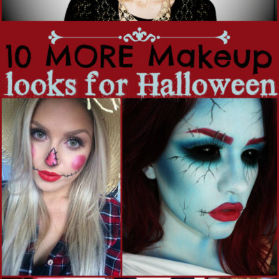 10 MORE Makeup Looks for Halloween