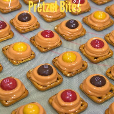 Peanut Butter Pumpkin Spice Pretzel Bites