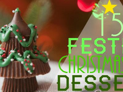 15 Festive Christmas Tree Desserts