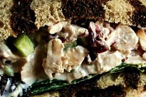 Cranberry Turkey Salad {contributor Rina}