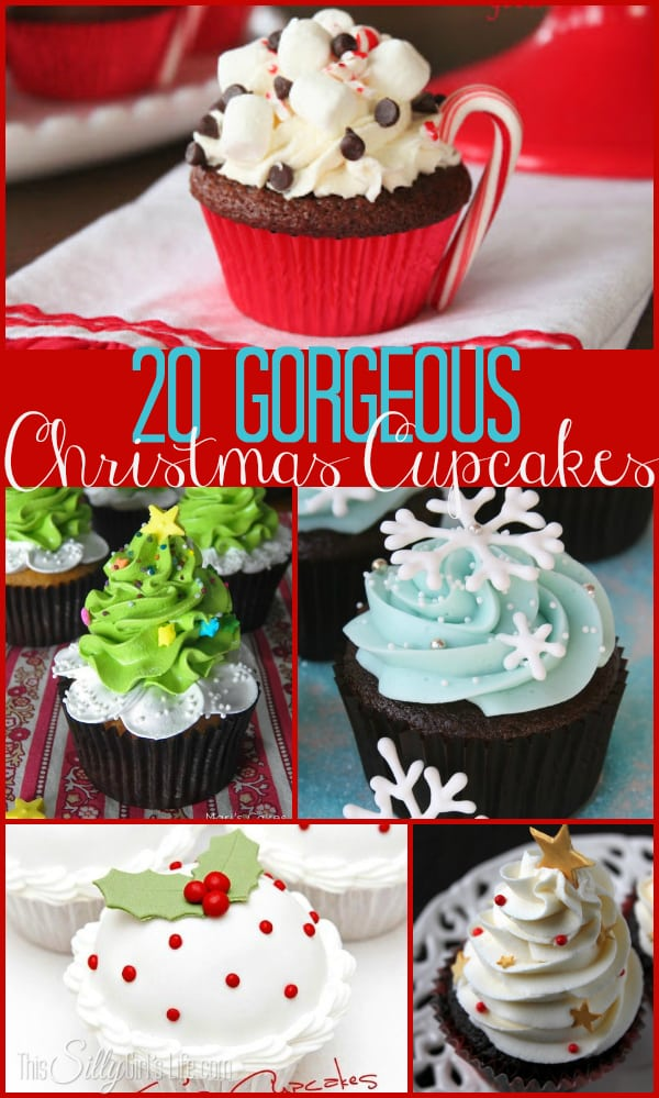 20 Gorgeous Christmas Cupcakes