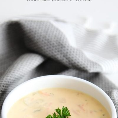 Vegetable Cheese Chowder