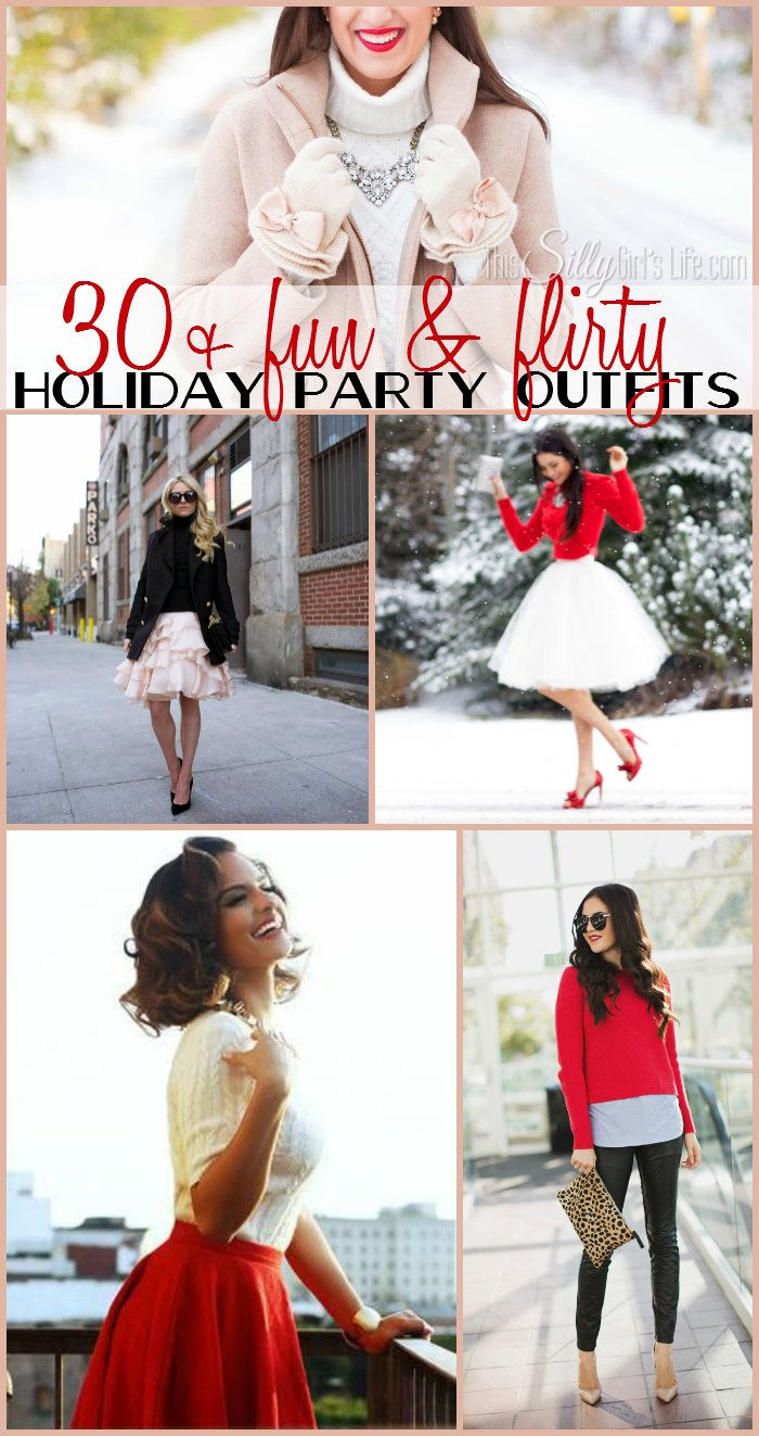 30 + Fun and Flirty Holiday Party Outfits