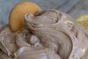 Creamy Nutella Peanut Butter Dip