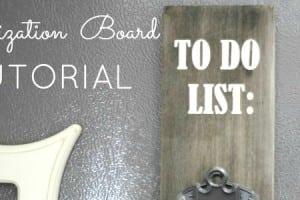 Organization Board Tutorial {contributor Shonee}