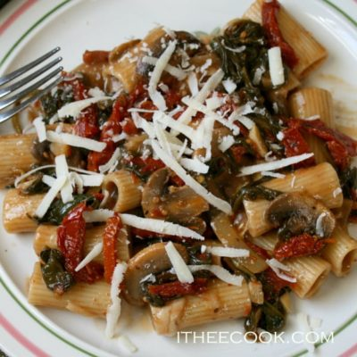 Rigatoni with Mushrooms {contributor Rina}