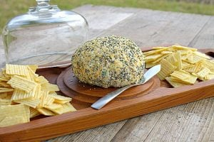 Everything Cheese Ball Recipe {Plus Party Planning Tips}