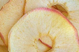 Baked Honey Crisp Apple Chips