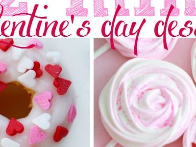 12 Mini Valentine's Day Desserts