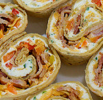 Cheddar Bacon Ranch Pinwheels